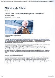 Bericht MZ 15.06.2017_Erfinderpreis
