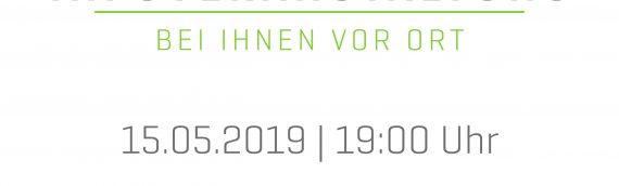 """15.05.2019 – Infoveranstaltung """"SCHNELLES INTERNET FÜR TRÖGLITZ"""""""